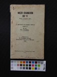 Mizo Chanchin, Bu II – A History of Lushai Hills, Part II [1947